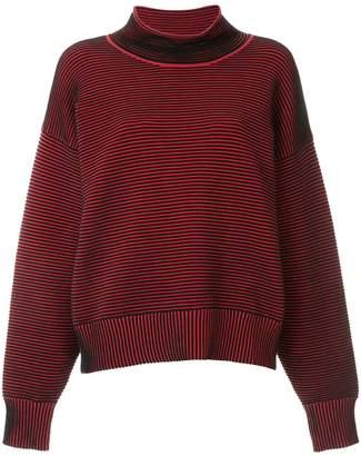 Nagnata ribbed knit turtleneck jumper