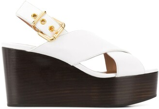 Marni Cross Strap Sandals