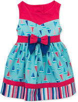 Rare Editions Sailboat Dress, Baby Girls (0-24 months)