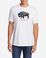 Eddie Bauer Men's Graphic T-Shirt - American Bison