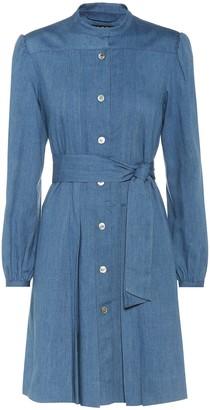A.P.C. Alba chambray dress