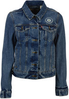 Levi's Women's Seattle Mariners Denim Trucker Jacket