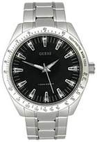 GUESS GUESS? Men's U10584G1 Silver Stainless-Steel Quartz Watch with Dial