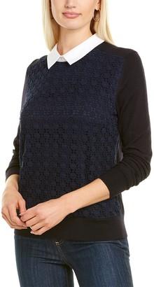 Tory Burch Guipure Wool Sweater