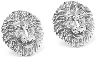 Mvdt Collection Lion Ear Stud Silver