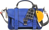 Proenza Schouler PS1 Tiny + bag with patchwork Strap