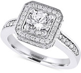 Effy Diamond Ring (1-5/8 ct. t.w.) in 14k White Gold