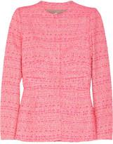 Giambattista Valli Tweed peplum jacket