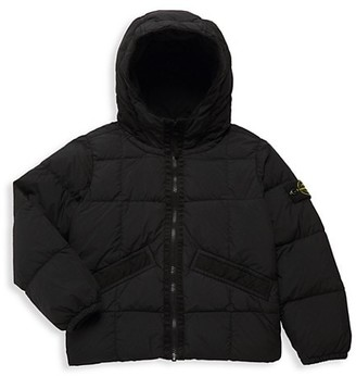 Stone Island Little Boy's & Boy's Real Down Puffer Jacket