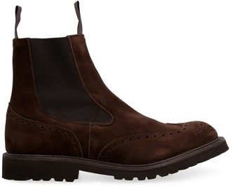 Tricker's Trickers Henry Suede Chelsea Boots