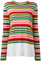 No.21 striped jumper