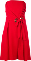 Alberta Ferretti strapless dress - women - Acetate/Rayon - 42