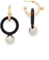 Marni Circle Sphere Earrings
