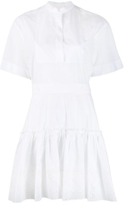 Chloé broderie anglaise shirt dress
