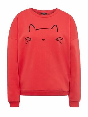 Mavi Jeans Women's Cat Embroidered Sweatshirt