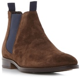 Bertie Brown 'cole' Double Pull Up Tab Chelsea Boot