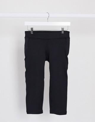 Reebok Training capri leggings in black