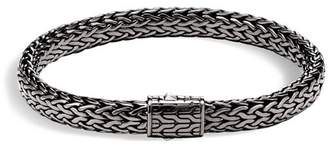 John Hardy Men's Sterling Silver Medium Flat Classic Chain Bracelet
