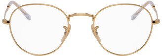 Ray-Ban Gold Round Icons Glasses