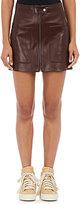 Helmut Lang Women's Leather Miniskirt