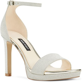 Nine West Platform Heel Sandals - Edyn