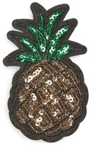 Cara Sequin Pineapple Patch Brooch