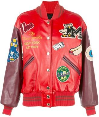 Marc Jacobs The Varsity patchwork jacket