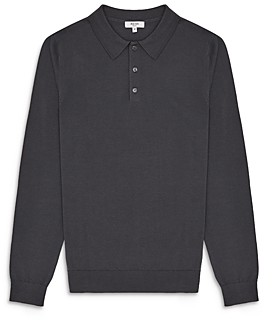Reiss Trafford Long Sleeve Polo