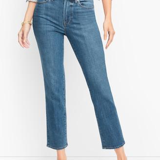 Talbots Modern Ankle Jeans - Pier Wash