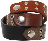 Maison Margiela Studded Leather Wrap Bracelet