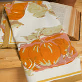 Couleur Nature Pumpkin Orange Yellow Tea Towel