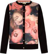 Yumi Flower Print Cardigan
