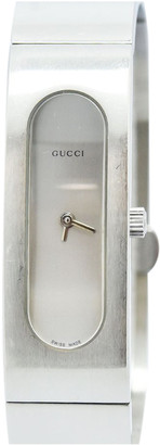 Gucci Silver Steel Watches