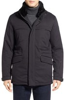 Tumi Men's 'Roadster Luxe' Parka With Genuine Beaver Fur Collar