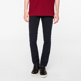Paul Smith Men's Slim-Fit Garment-Dyed Navy Jeans