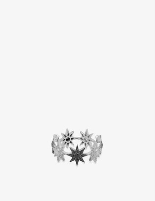 THE ALKEMISTRY Colette Galaxia 18ct white-gold and diamond ring