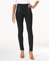 INC International Concepts Petite Zip-Pocket Pull-On Pants, Created for Macy's
