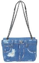 Moschino Mochino Denim Pockets Shoulder Bag - Blue