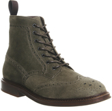 Poste Caeser Brogue Boots