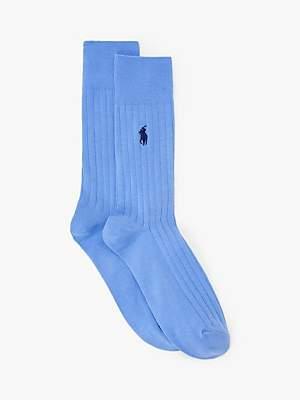 Ralph Lauren Plain Ribbed Socks