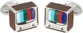 Jan Leslie Retro TV Cufflinks