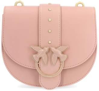 Pinko Simply Round Love Bird Detail Shoulder Bag