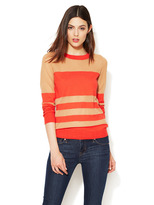 Marc by Marc Jacobs Chinati Sheer Stripe Sweater