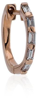 Shay Rose Gold mini baguette diamond earrings