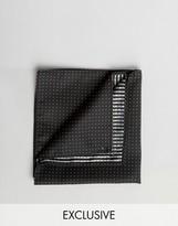 Reclaimed Vintage Polka Dot Pocket Square