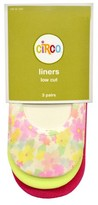 Circo Girls' Low-Cut Liners 3 pk Floral/Pink/Yellow