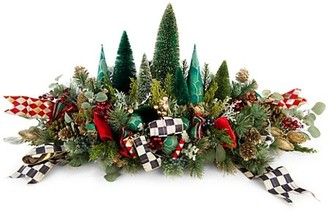 Mackenzie Childs Happy Holidays Mantel Piece