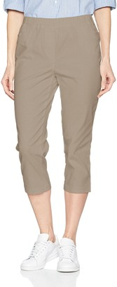 Damart womens Pantacourt enfilable Straight Trousers