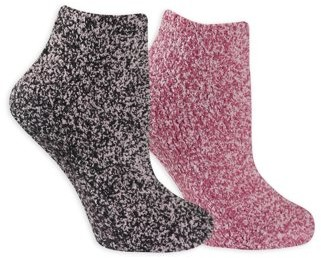 Dr. Scholl's Women's Soothing Spa Low Cut Socks 2 Pair