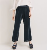 Promod Wideleg pleated trousers